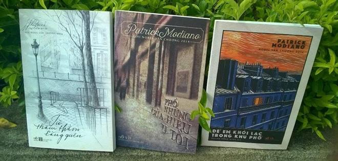 Một số tiểu thuyết của Patrick Modiano được xuất bản tại Việt Nam gần đây.