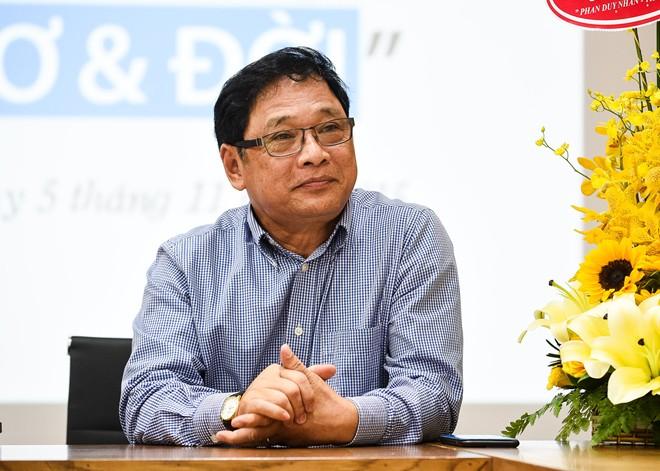 Ông Lê Hoàng - Phó chủ tịch Hội Xuất bản Việt Nam.