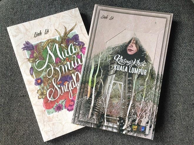 Hai cuốn sách của nhà văn trẻ Linh Lê.