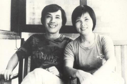 Lưu Quang Vũ và Xuân Quỳnh. Ảnh: tư liệu
