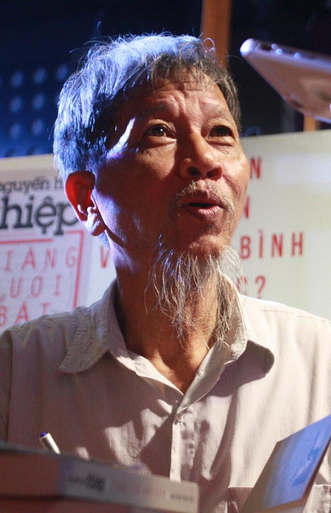 Nhà văn Nguyễn Huy Thiệp. Ảnh: Việt Hà