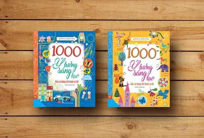 sach 1000 y tuong sang tao Những cuốn sách rèn luyện tư duy sáng tạo cho trẻ