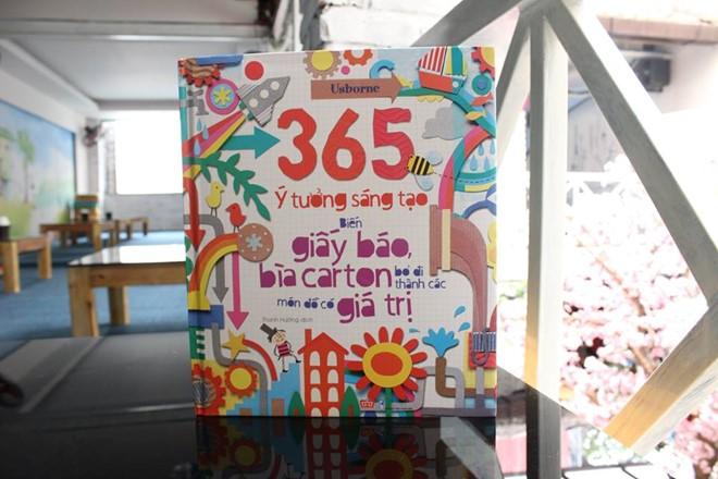 sach 365 y tuong sang tao Những cuốn sách rèn luyện tư duy sáng tạo cho trẻ