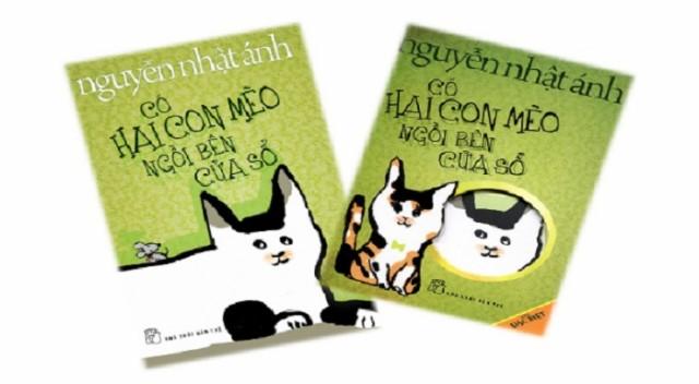 sach co hai con meo ben cua so 5 cuốn sách viết về động vật hay nhất của nhà văn Nguyễn Nhật Ánh