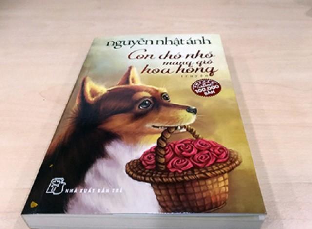 sach con cho nho mang gio hoa hong 5 cuốn sách viết về động vật hay nhất của nhà văn Nguyễn Nhật Ánh