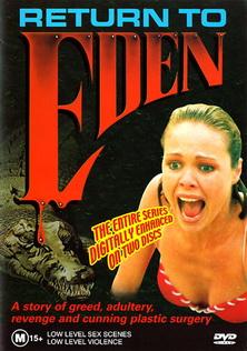 """Bìa phim """"Trở về Eden"""", bộ phim từng làm mưa làm gió một thời."""