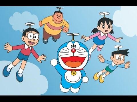 Doraemon và những người bạn Nobita, Xuka, Chaien, Xeko.
