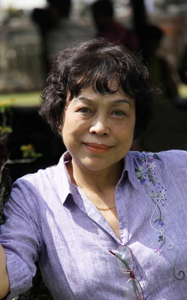 Bức ảnh do thi sĩ Phạm Thị Ngọc Liên chụp được sử dụng làm ảnh giới thiệu tác phẩm. Ảnh: Phạm Thị Ngọc Liên.