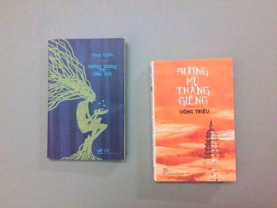 """Hai tiểu thuyết """"Tưởng tượng và dấu vết"""" và """"Sương mù tháng Giêng"""" của Uông Triều."""