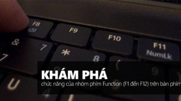 phim tat window 370x208 - Dùng Windows đã lâu nhưng bạn đã biết hết chức năng của các phím từ F1 đến F12 chưa?
