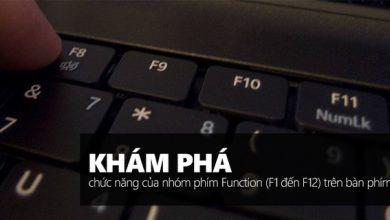 Photo of Dùng Windows đã lâu nhưng bạn đã biết hết chức năng của các phím từ F1 đến F12 chưa?