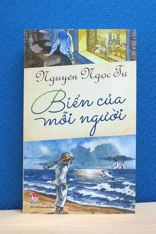 """Bìa sách """"Biển của mỗi người"""" do NXB Kim Đồng ấn hành."""