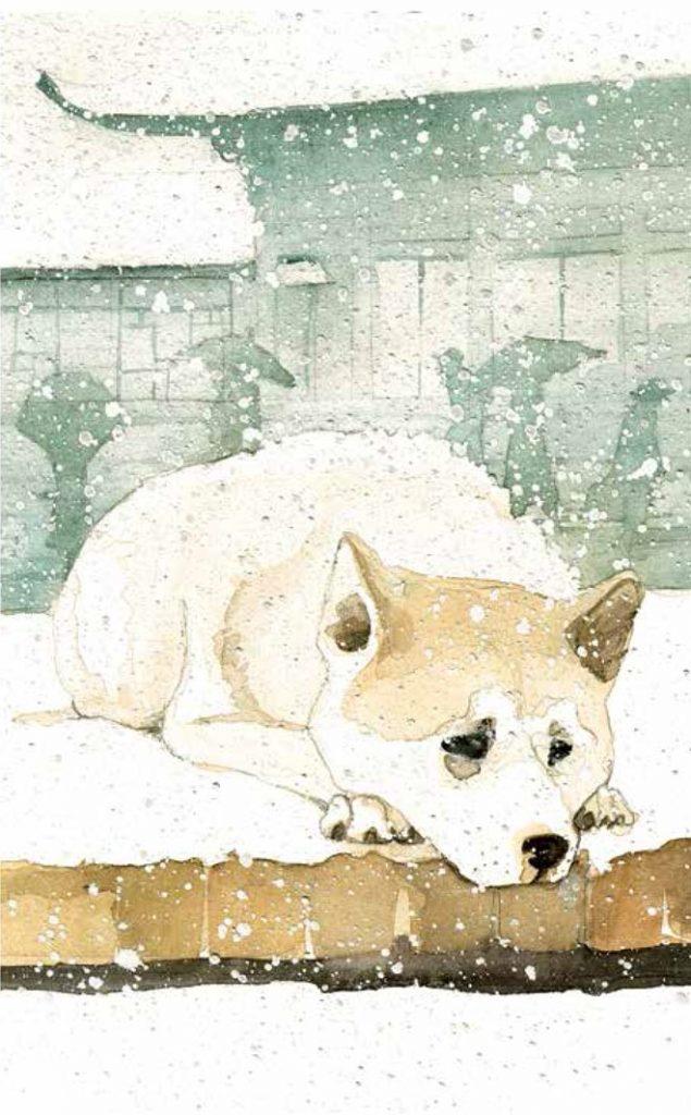 sach hachiko 2 635x1024 Hachiko   Chú chó chờ đợi: Biểu tượng của tình bạn mãi mãi