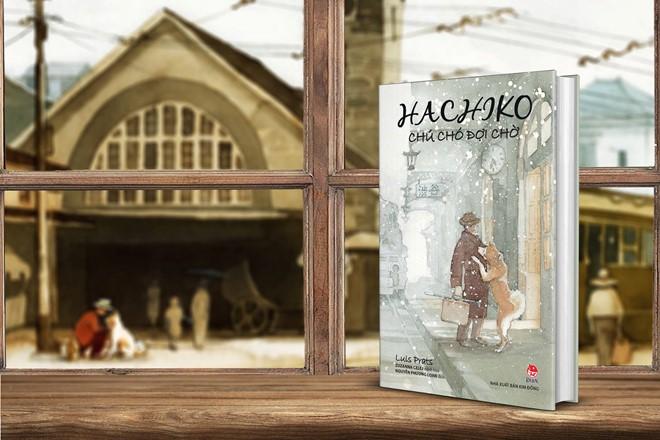 sach hachiko Hachiko   Chú chó chờ đợi: Biểu tượng của tình bạn mãi mãi