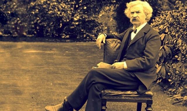 Mark Twain lấy bút danh để nhớ lại một thời lao động vất vả của mình