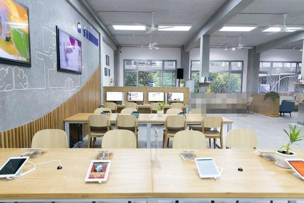 Không gian hiện đại của thư viện S.Hub.