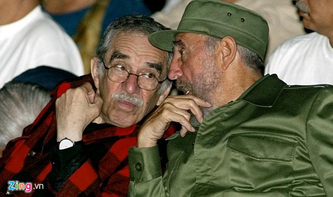 Giữa Castro và Marquez là một tình bạn đẹp.