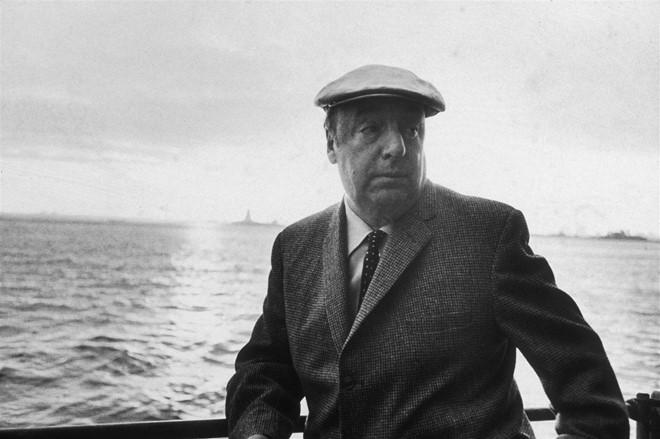 Nhà văn Chile Pablo Neruda.