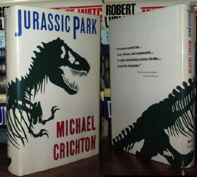 Jurassic Park được mua bản quyền chuyển thể thành phim từ khi chưa được xuất bản