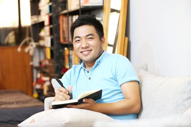 tac gia nguyen ngoc thach Nguyễn Ngọc Thạch nói về thói quen cô đơn