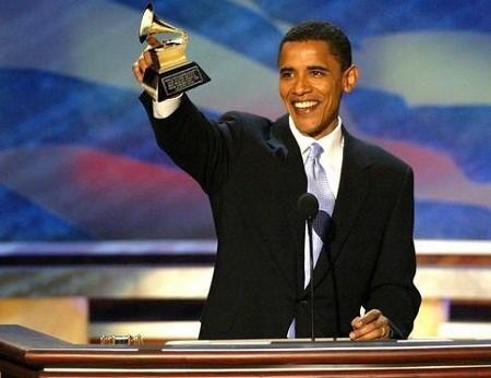 Barack Obama còn là người viết sách, ông hai lần đoạt giải Grammy cho những cuốn sách nói của mình.