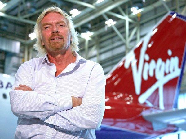 Tỷ phú người Anh Richard Branson là một trong 4 doanh nhân có sức ảnh hưởng nhất thế giới.