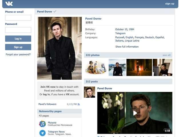 nhan vat durov 2 Chân dung Mark Zuckerberg của Nga, một phiên bản khác điên rồ và ngông cuồng hơn