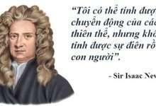 Photo of Isaac Newton: Nạn nhân của đám đông