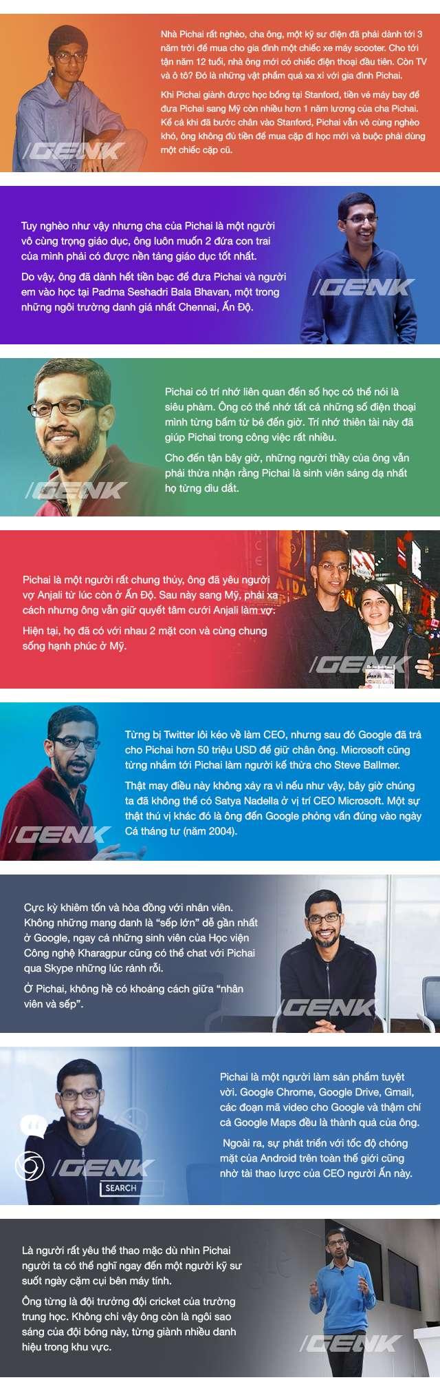 nhan vat sundar pichai 1 Chuyện bây giờ mới kể về bộ óc thiên tài của Google, Sundar Pichai