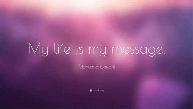thanh gandhi 2 30 triết lý sống bất hủ của Thánh Mahatma Gandhi
