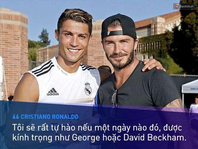 nhan vat beckham 4 Beckham không trở thành huyền thoại nhờ vẻ ngoài soái ca