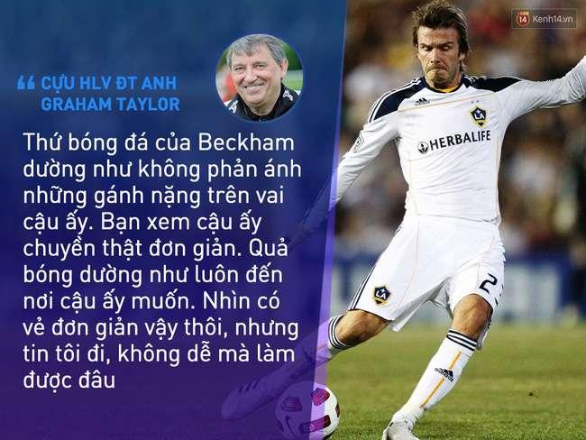 nhan vat beckham 6 Beckham không trở thành huyền thoại nhờ vẻ ngoài soái ca