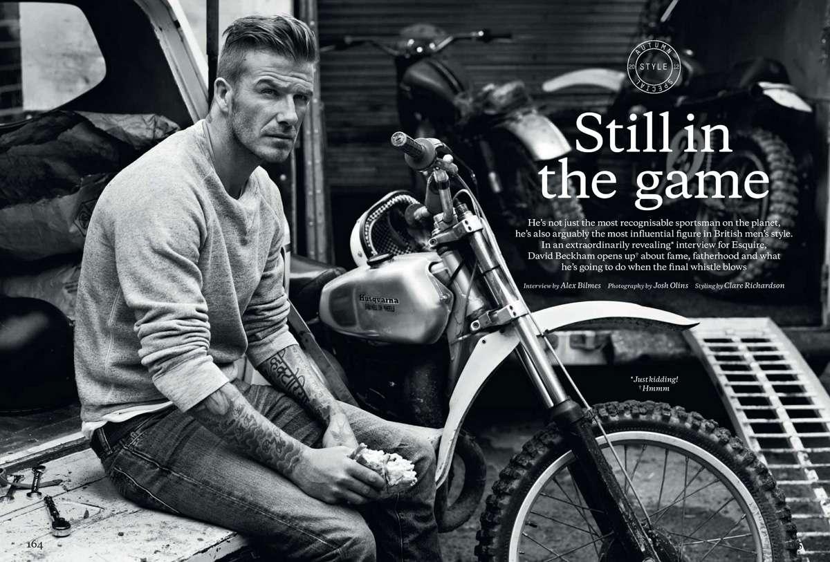 nhan vat beckham Beckham không trở thành huyền thoại nhờ vẻ ngoài soái ca