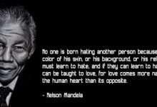 Photo of 20 câu nói truyền cảm hứng của 'huyền thoại' Nelson Mandela