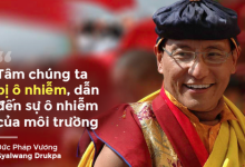 Photo of Đức Pháp Vương Gyalwang Drukpa: Ta yêu chó, thích chim nhưng sao lại sắm lồng nhốt chúng?