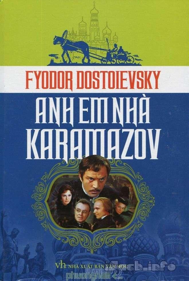 sach anh em nha karamazov Những tựa sách hay nhất mọi thời đại không thể bỏ qua trong đời