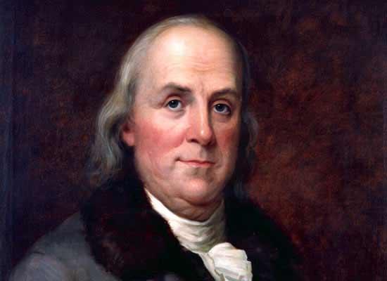 nhan vat benjamin franklin 1 13 phương châm sống bất hủ của Benjamin Franklin