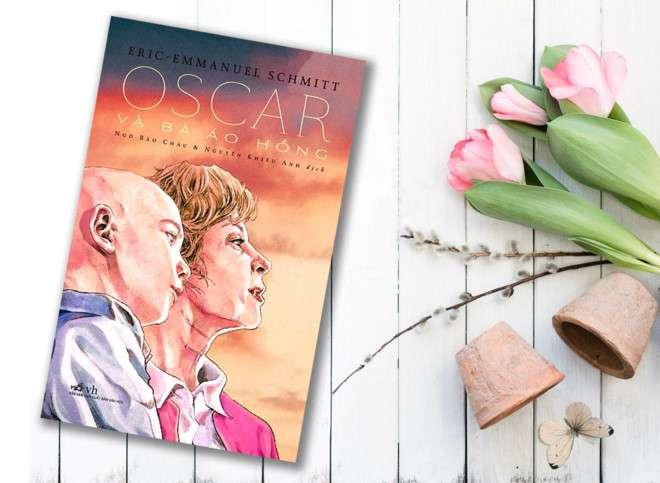 sach oscar va ba ao hong Tuyển tập sách hay dành cho thiếu nhi giúp nuôi dưỡng tâm hồn đẹp