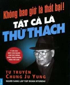 sach khong bao gio la that bai 246x300 9 cuốn sách hay cần đọc về doanh nhân nổi tiếng thế giới