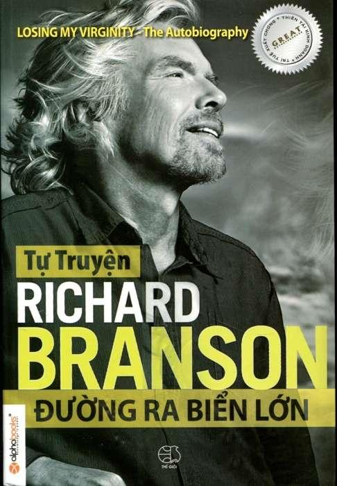 sach tu truyen richard branson duong ra bien lon 15 Cuốn Sách Kinh Doanh Hay Nên Đọc Trong Năm 2018