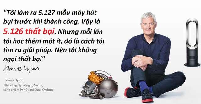 nhan vat james dyson 3 [Chuyện thất bại] James Dyson: Edison thời hiện đại và bài học xương máu