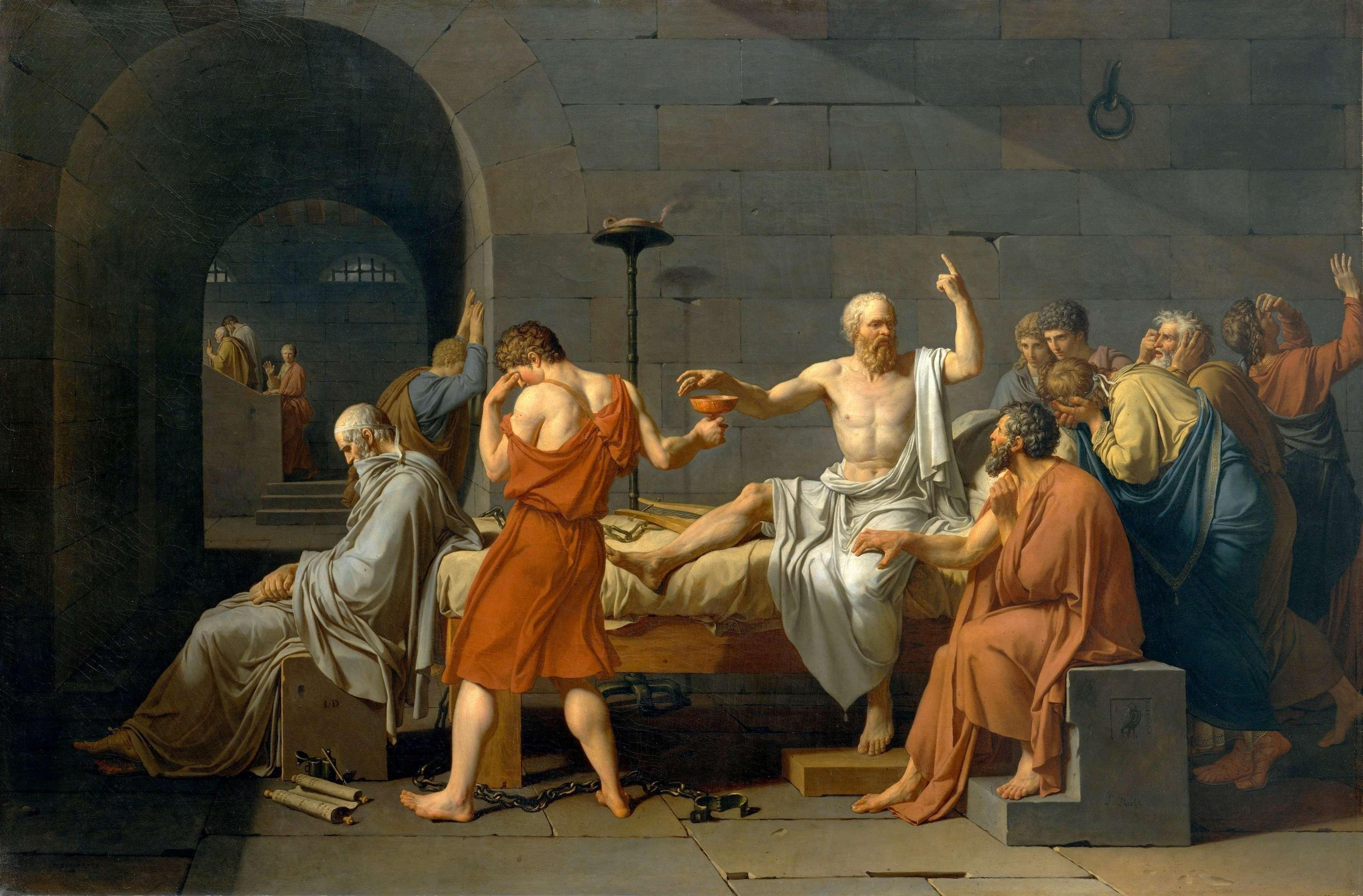 nhan vat socrates 2 Những câu nói thông tuệ của triết gia Socrates