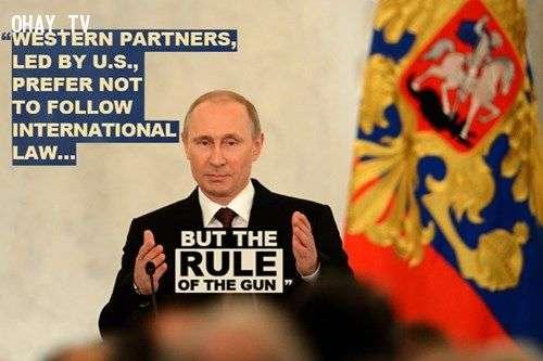 cau noi putin 1 Những câu nói bất hủ của Tổng thống Nga Vladimir Putin