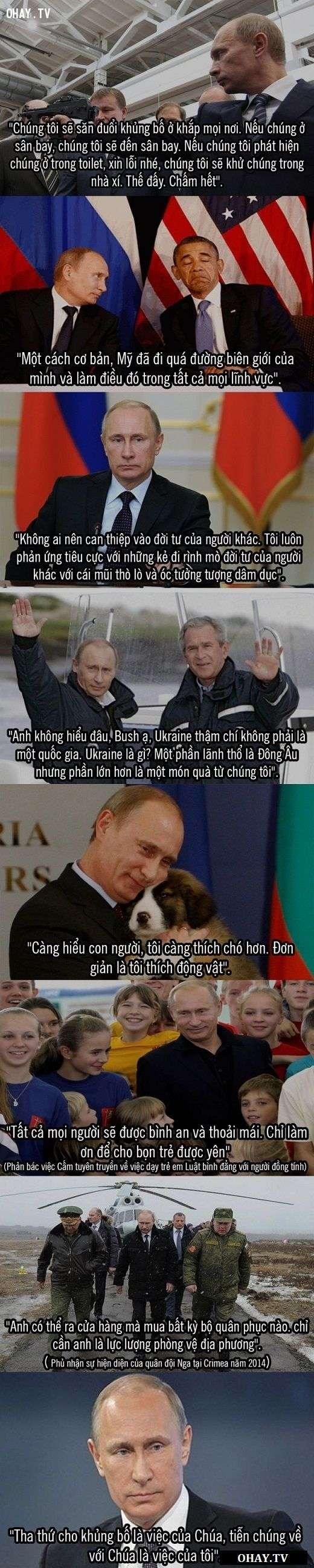 cau noi putin 3 Những câu nói bất hủ của Tổng thống Nga Vladimir Putin