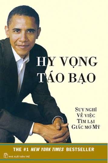 sach hy vong tao bao 5 quyển sách hay về Obama khuyên đọc