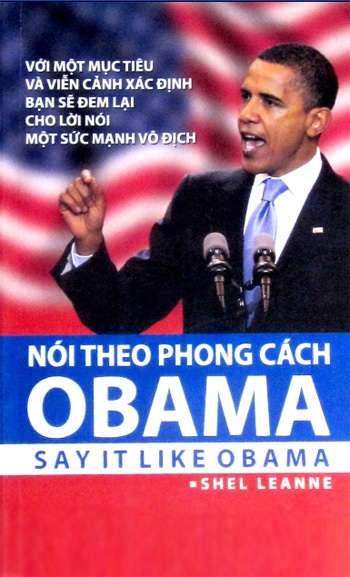 sach noi theo phong cach obama 5 quyển sách hay về Obama khuyên đọc