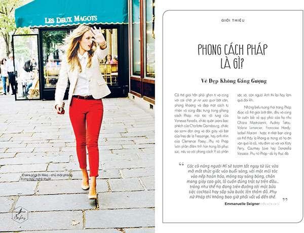 sach thanh lich kieu phap 1 Thanh lịch kiểu Pháp: Bí mật phía sau phong cách sống của những quý cô Paris