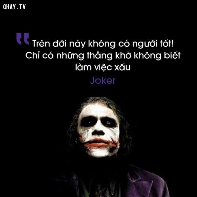 nhan vat john joker 17 câu nói phũ nhưng thấm của các nhân vật phản diện thế kỷ