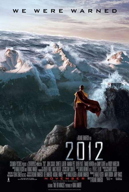 phim 2012 Những bộ phim bom tấn về thảm họa thiên nhiên