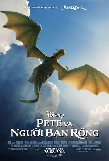 phim pete va nguoi ban rong Petes Dragon đem thế giới mộng mơ đến trẻ thơ